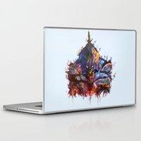 evangelion Laptop & iPad Skins featuring Evangelion by ururuty