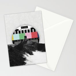 Out of the grid Stationery Cards