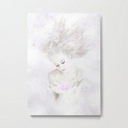 Ice Queen Metal Print