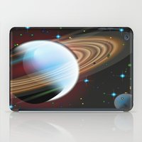 planets iPad Cases featuring Planets by Kaitlynn Marie