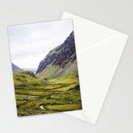 Green Irish Valley Stationery Cards
