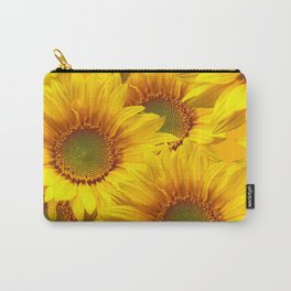 Yellow Mellow Sunflower Bouquet #decor #society6 #buyart Carry-All Pouch