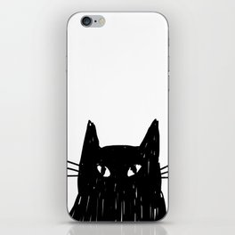 Jess The Black and White Cat iPhone Skin