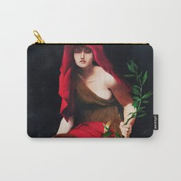 Copy of Priestess of Delphi - John Collier Carry-All Pouch