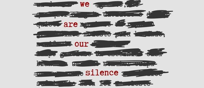 We are our silence Coffee Mug