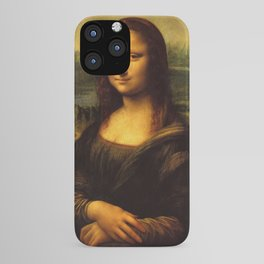 Monalisa, Leonardo Da Vinci, Mona Lisa, original iPhone Case