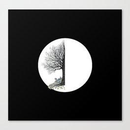 Thoracic Circular Canvas Print