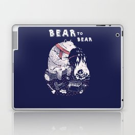 Bear In Winter Season Laptop & iPad Skin