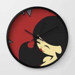 China-Girl Wall Clock