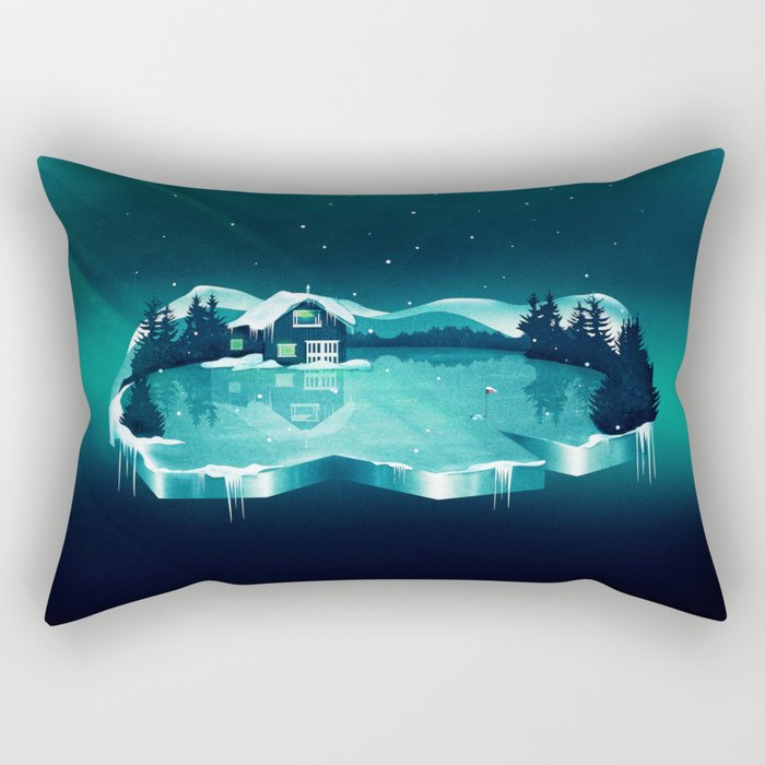 Frozen Magic Rectangular Pillow