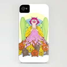 Cat Lady iPhone (4, 4s) Slim Case