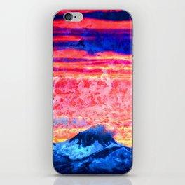 Turmoil on Mt. Jefferson iPhone Skin