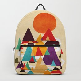 Let's visit the mountains Backpack