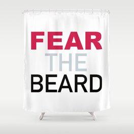 Fear The Beard Shower Curtain