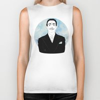 dali Biker Tanks featuring DALI by Adam Churcher