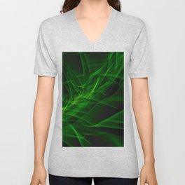 Glowstick Light painting Unisex V-Neck