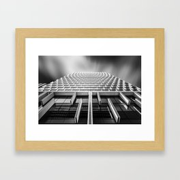 Sunshades Patterns, Light, and Shadow. Framed Art Print