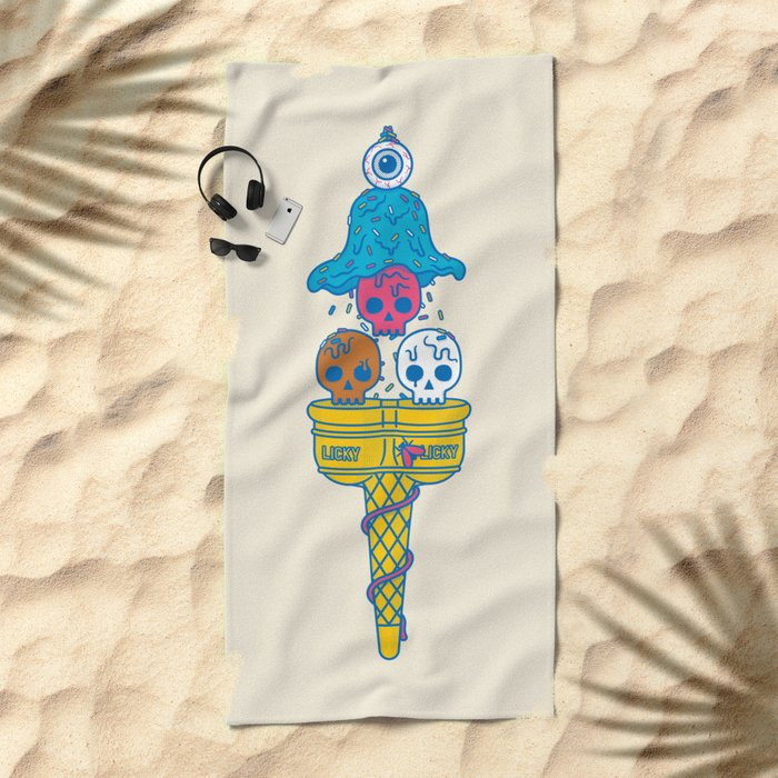 Brainfreeze Beach Towel