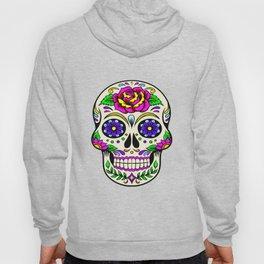 Mexican skull flowers Hoody