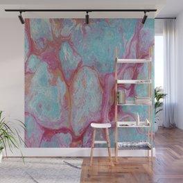 Pink lagoon Wall Mural