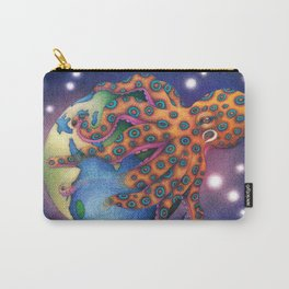 """Octo World"" Carry-All Pouch"