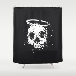 The Angel and The Gambler Shower Curtain