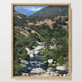 California Landscape Serving Tray