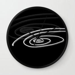 White Eye Wall Clock