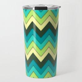 Multicolor Pattern Travel Mug