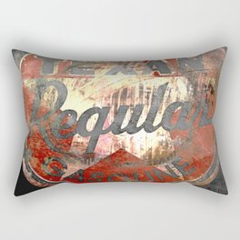 Texan - Vintage Label Rectangular Pillow