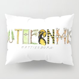 Southern Miss - Hattiesburg Pillow Sham