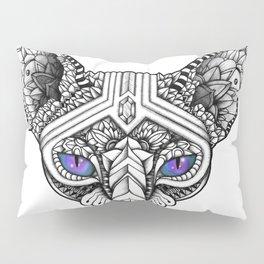 Ornate Hairless Cat Pillow Sham