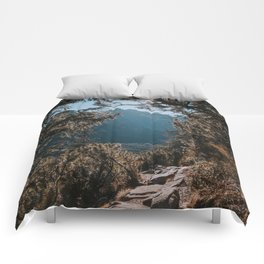 On the trail - Landscape and Nature Photography Comforters