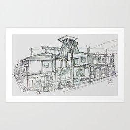 takayama Art Print