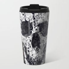 Doodle Skull Travel Mug
