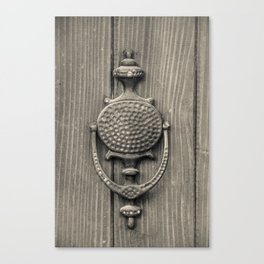 Knocker Canvas Print