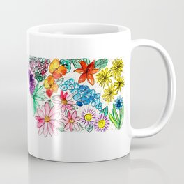 Hand Painted Montana State Map Coffee Mug