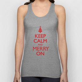 Keep Calm Unisex Tank Top