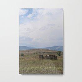 Past Present Sky of Colorado Metal Print