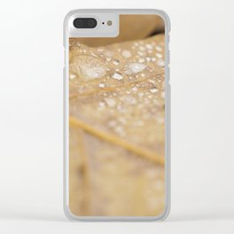 Wet forest #2 Clear iPhone Case