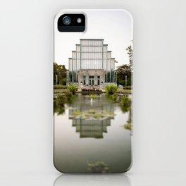 St. Louis Forest Park Jewel Box iPhone Case