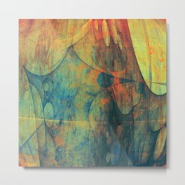 Abstract composition 147 Metal Print