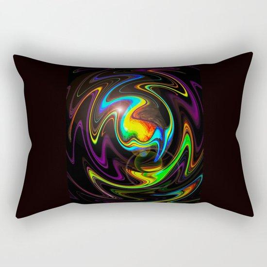 Abstract Perfection Rectangular Pillow