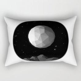 GeoMoon Rectangular Pillow