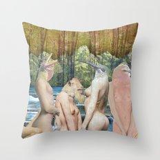 AnimalSkins Throw Pillow