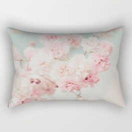 Gypsophila pink blush ll Rectangular Pillow