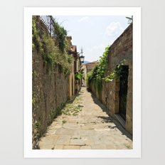 Arezzo Alley Art Print