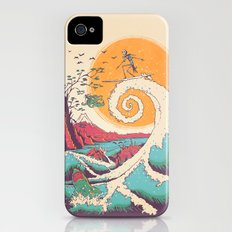 Surf Before Christmas Slim Case iPhone (4, 4s)