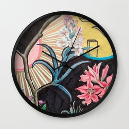 gift wrap intervention 02, 2016 Wall Clock