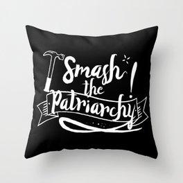 Smash The Patriarchy! Throw Pillow
